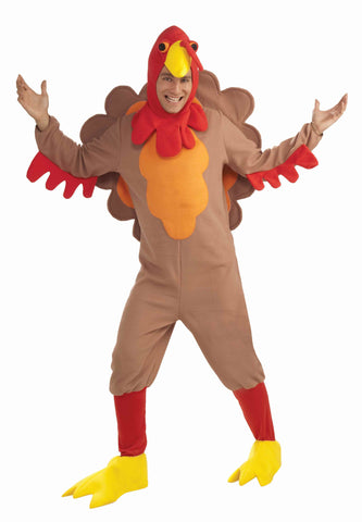 Adults Turkey Costume - HalloweenCostumes4U.com - Adult Costumes