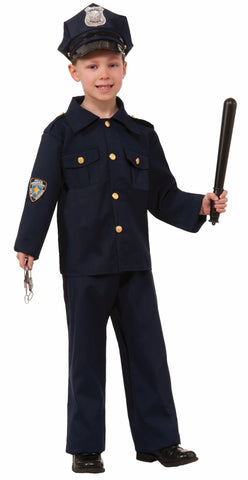 Boys Police Officer Costume - HalloweenCostumes4U.com - Kids Costumes - 1