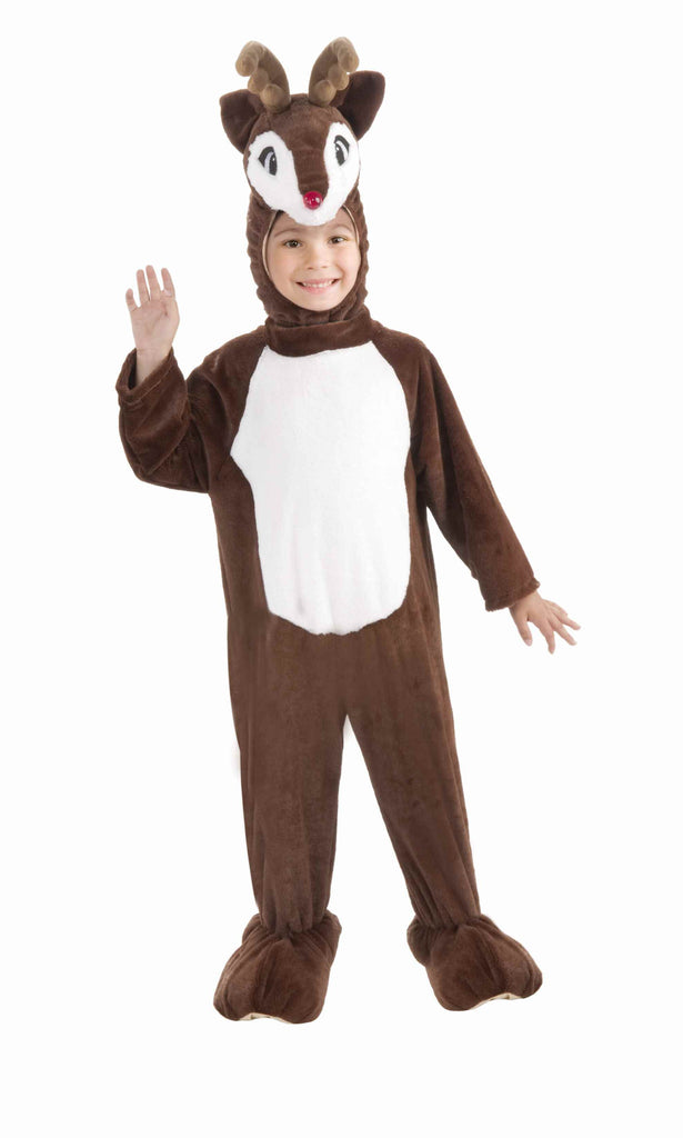Kid's Holiday Plush Reindeer Costume