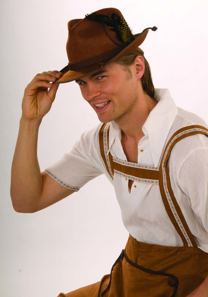 German Oktoberfest Hat Brown