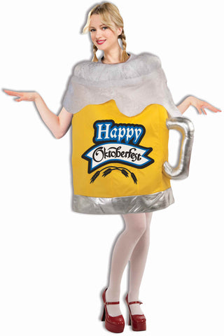 Happy Oktoberfest Costume Beer Mug - HalloweenCostumes4U.com - Decorations