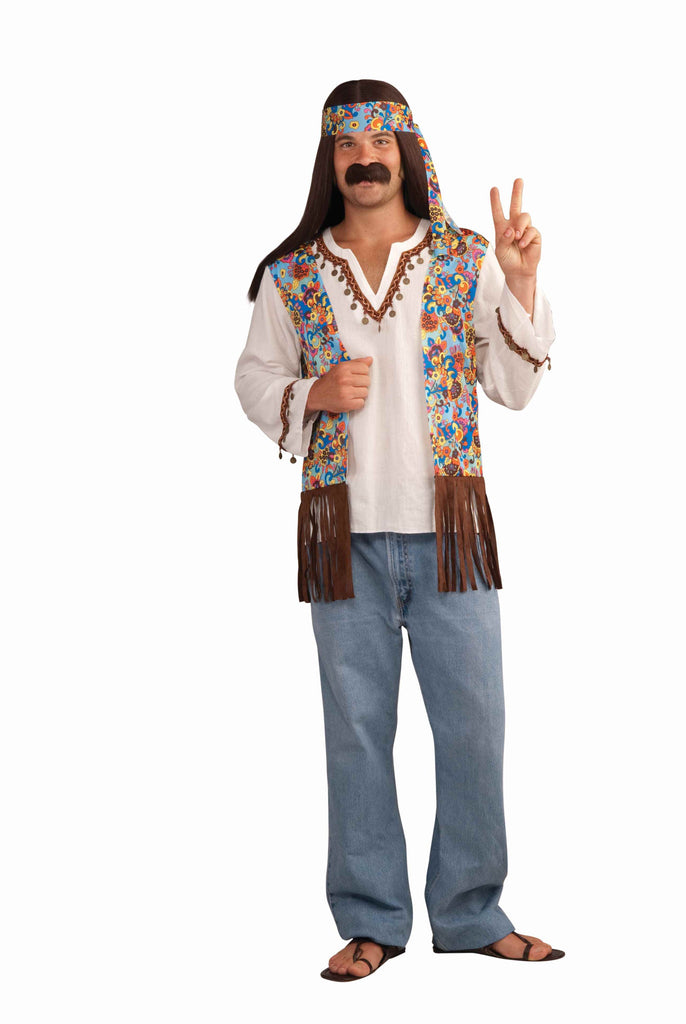 Men's Hippie Costume Halloween Kits - HalloweenCostumes4U.com - Adult Costumes