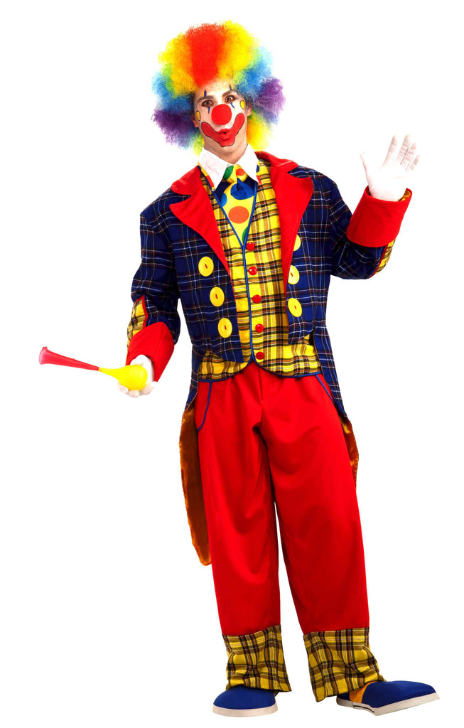 Deluxe Adult Clown Halloween Costume - HalloweenCostumes4U.com - Costumes