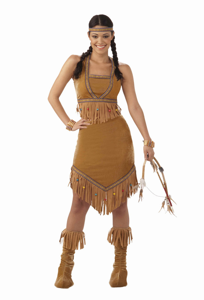 Halloween Native American Woman Costumes