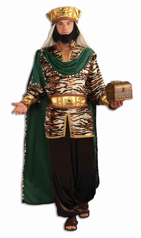 Deluxe Biblical Wise Man Adult Costume Emerald - HalloweenCostumes4U.com - Adult Costumes