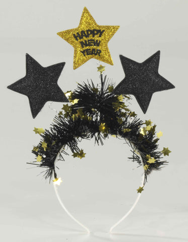Happy New Year's Bopper Headbands - HalloweenCostumes4U.com - Accessories