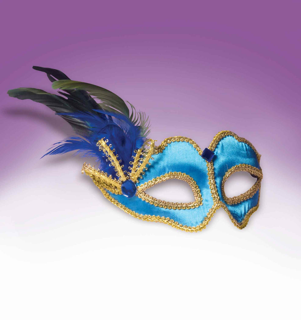 Great Value Masquerade Mask Teal