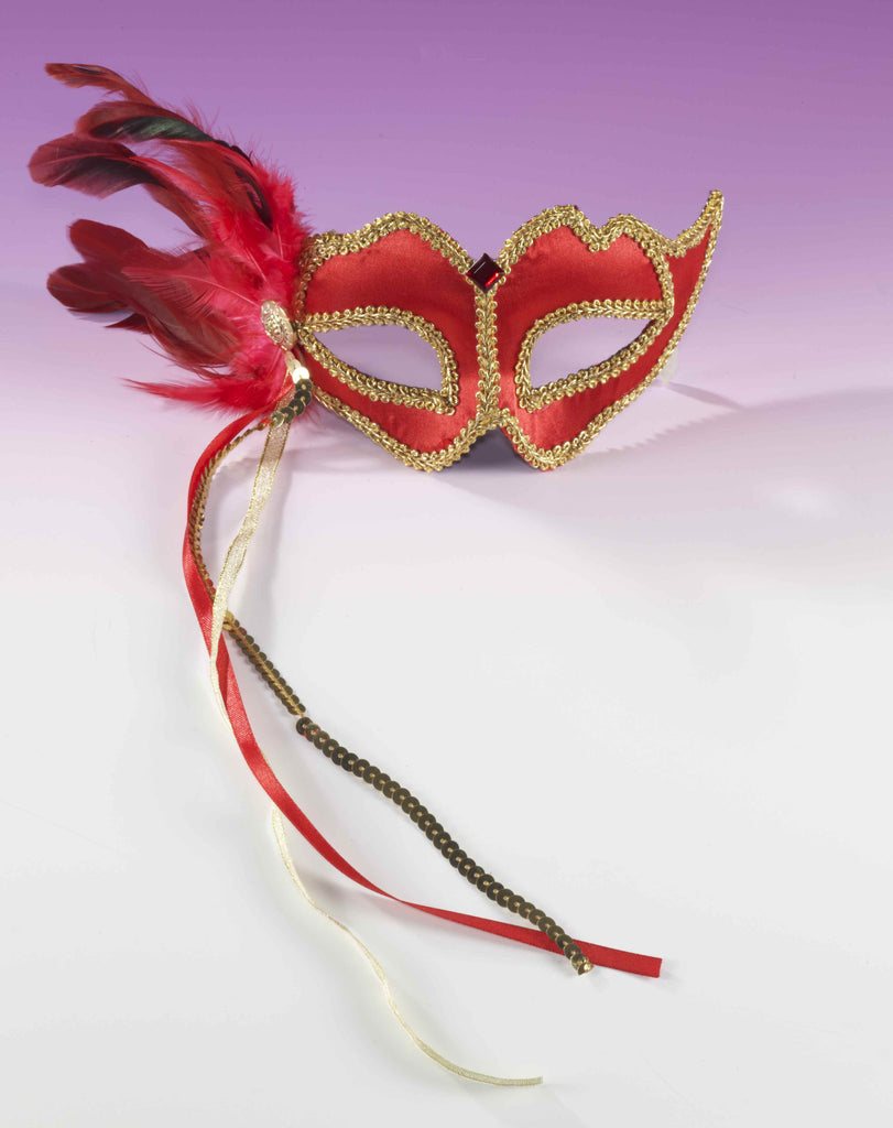 Great Value Masquerade Mask Red - HalloweenCostumes4U.com - Accessories