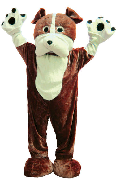 Adults Bull Dog Mascot Costume - HalloweenCostumes4U.com - Adult Costumes - 1