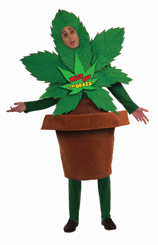 Pot Plant Halloween Costume for Adults - HalloweenCostumes4U.com - Adult Costumes