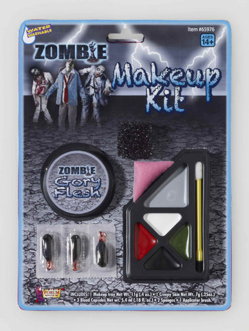 Zombie Costume Makeup Kit - HalloweenCostumes4U.com - Accessories