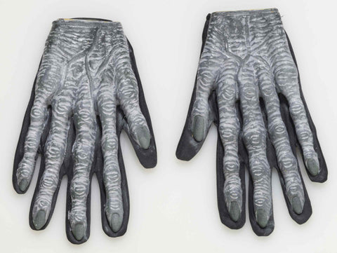 Zombie Costume Gloves Rubber Zombie Hands - HalloweenCostumes4U.com - Accessories