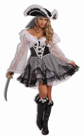 Deluxe Halloween Pirate Lady Costumes - HalloweenCostumes4U.com - Adult Costumes