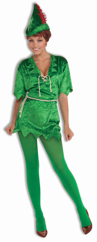 Women's Peter Pan Halloween Costume - HalloweenCostumes4U.com - Adult Costumes