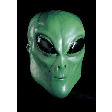Green Alien Mask - HalloweenCostumes4U.com - Accessories