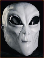 Gray Alien Mask - HalloweenCostumes4U.com - Accessories