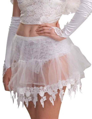 Sheer Crinoline Angel Skirt - HalloweenCostumes4U.com - Accessories