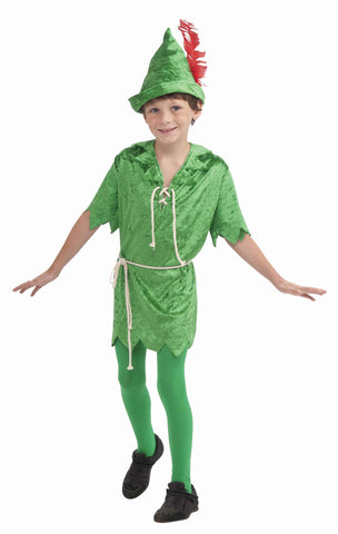 Peter Pan Costumes Child's Peter Pan - HalloweenCostumes4U.com - Kids Costumes