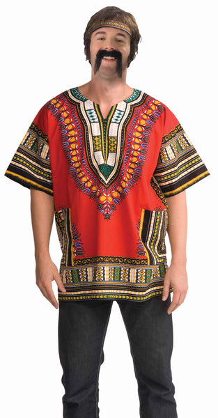 Mens Dashiki Hippie Shirt - Various Colors - HalloweenCostumes4U.com - Adult Costumes - 2