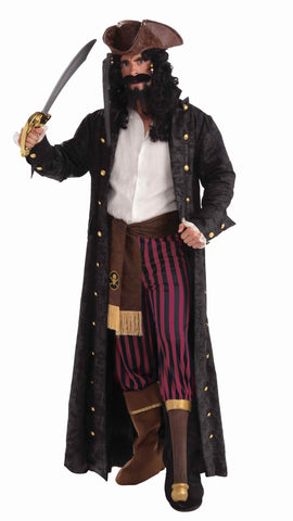 Halloween Peg Leg Pirate Costumes Mens - HalloweenCostumes4U.com - Adult Costumes