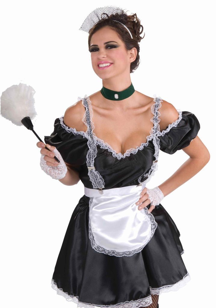 French Maid Lace Suspenders - HalloweenCostumes4U.com - Accessories