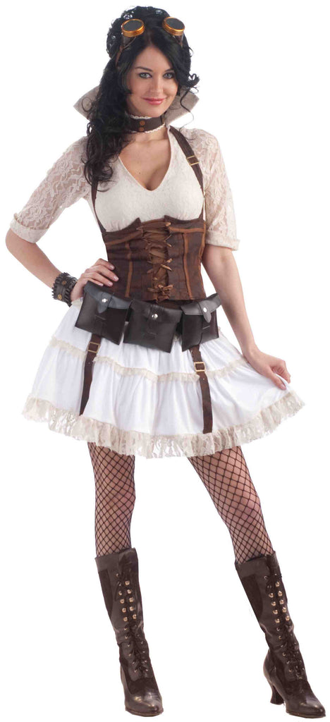 Halloween Costumes Steampunk Sally Womens - HalloweenCostumes4U.com - Adult Costumes