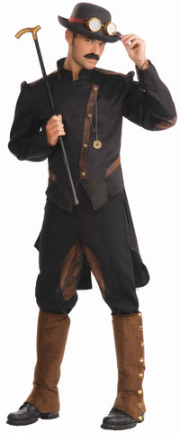 Steampunk Costumes Steampunk Gentleman - HalloweenCostumes4U.com - Adult Costumes
