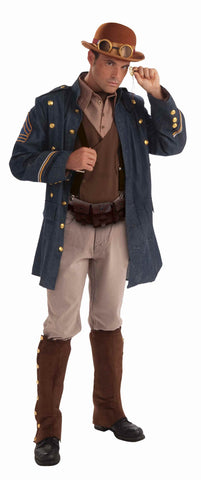 Steampunk Halloween Costumes Mens General - HalloweenCostumes4U.com - Adult Costumes