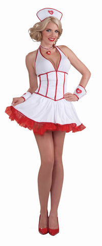 Women's Loving Nurse Sexy Costume - HalloweenCostumes4U.com - Adult Costumes