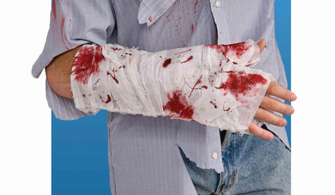 Halloween Bloody Arm Bandage - HalloweenCostumes4U.com - Accessories