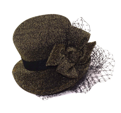 Steampunk Mini Hat Headband Brown - HalloweenCostumes4U.com - Accessories