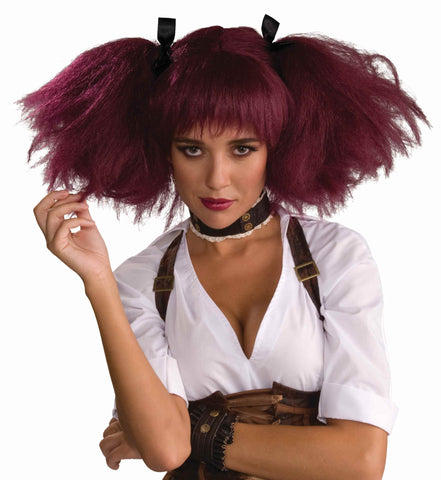 Steampunk Gal Costume Wig - HalloweenCostumes4U.com - Accessories