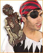 Monkey on Shoulder Piece - HalloweenCostumes4U.com - Accessories