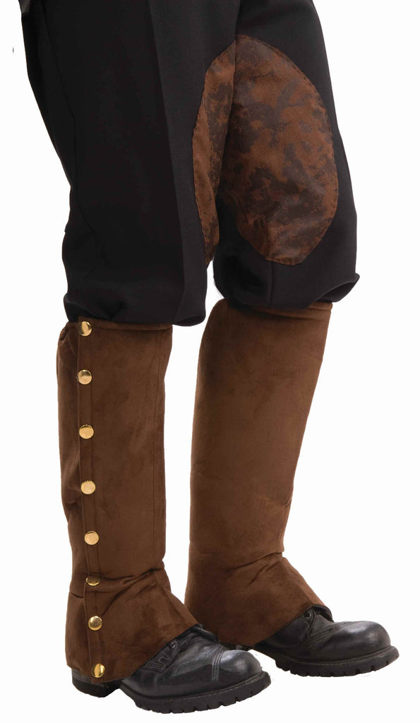 Costume Steampunk Spats Brown - HalloweenCostumes4U.com - Accessories