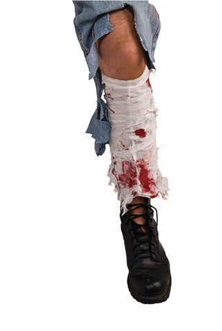 Bloody Leg Bandage - HalloweenCostumes4U.com - Accessories