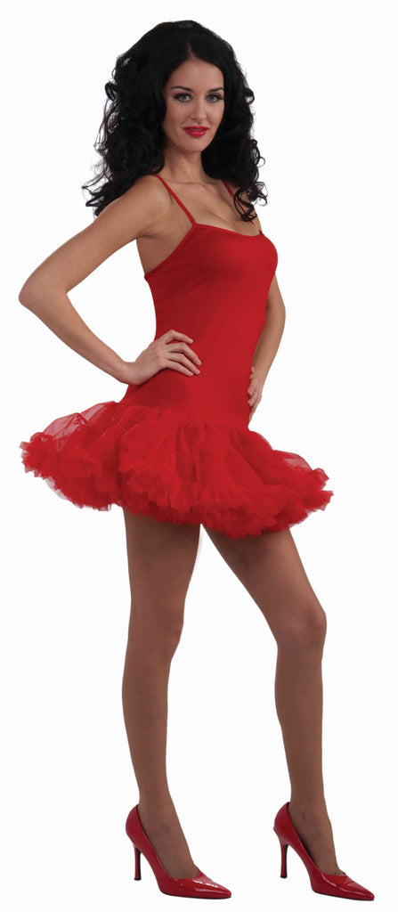 Red Petticoat Dress