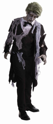 Halloween Tuxedo Zombie Mens Costume - HalloweenCostumes4U.com - Adult Costumes