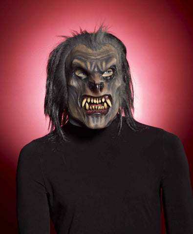 Wolf Masks Scary Werewolf Costume Mask - HalloweenCostumes4U.com - Accessories