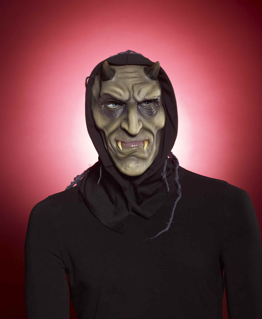 Goblin Masks Horned Hooded Goblin - HalloweenCostumes4U.com - Accessories
