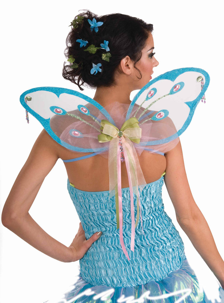Womens Mini Fairy Wings Glittery