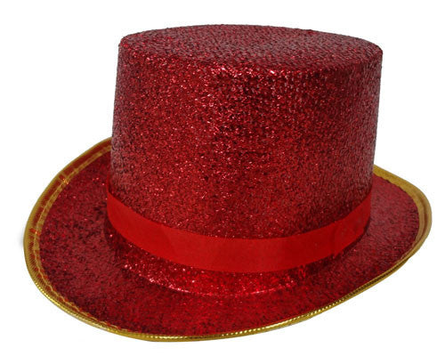 Shiny Top Hat - Various Colors - HalloweenCostumes4U.com - Accessories - 4