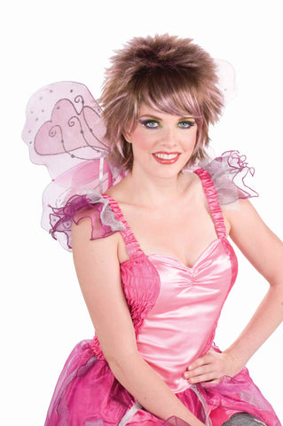 Pixie Costume Wigs Pink/Brown Wig - HalloweenCostumes4U.com - Accessories