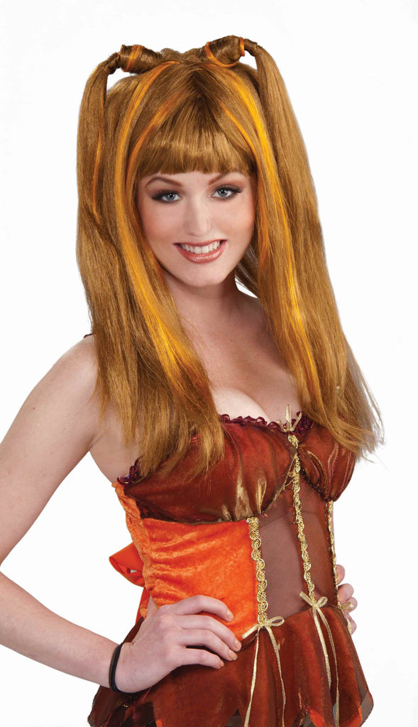 Fantasy Fairies Autumn Wig