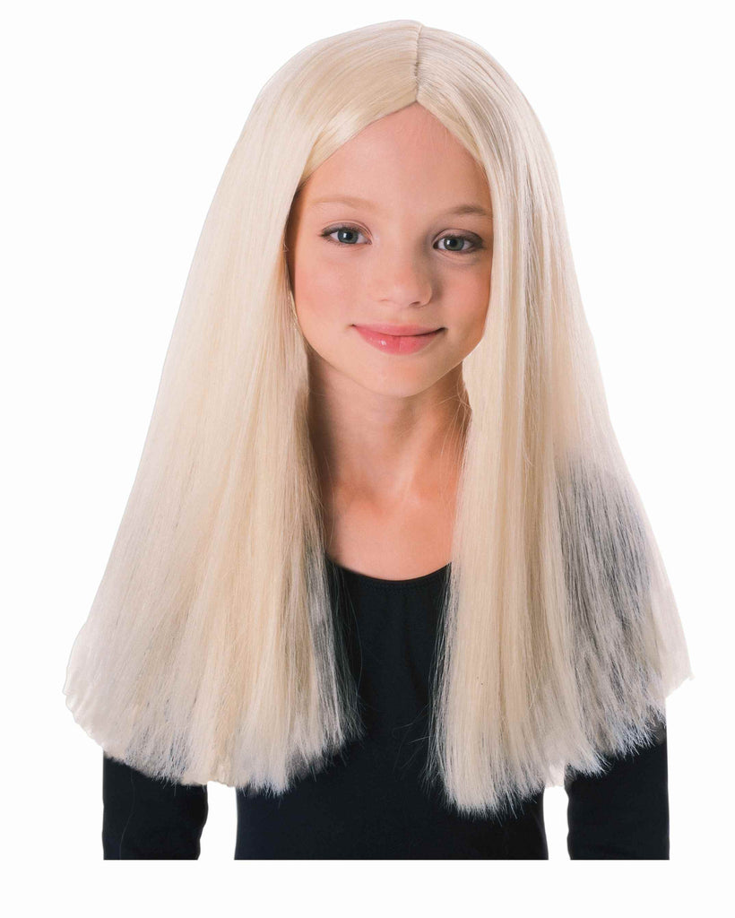 Kid's Witch Wig Long Blonde Halloween Wig
