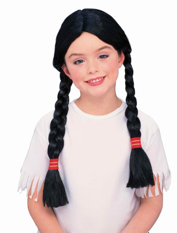 Native American Girl Costume Wig - HalloweenCostumes4U.com - Accessories