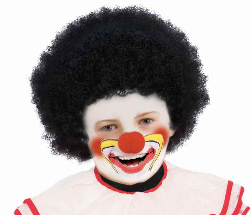 Kids Black Afro Wig - HalloweenCostumes4U.com - Accessories