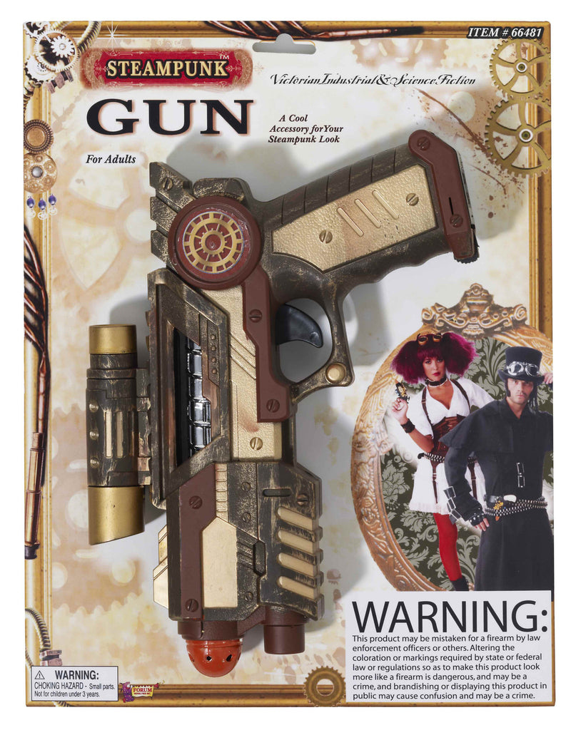Steam Punk Costume Space gun - HalloweenCostumes4U.com - Accessories