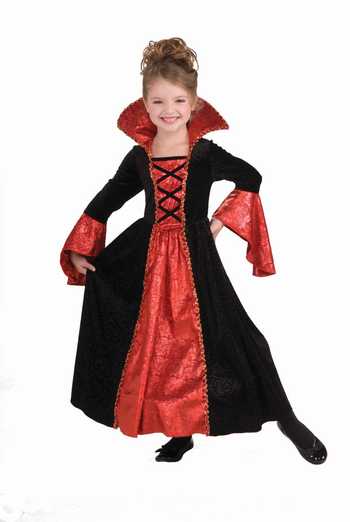 Girl's Vampire Halloween Costume Vamp Princess - HalloweenCostumes4U.com - Kids Costumes
