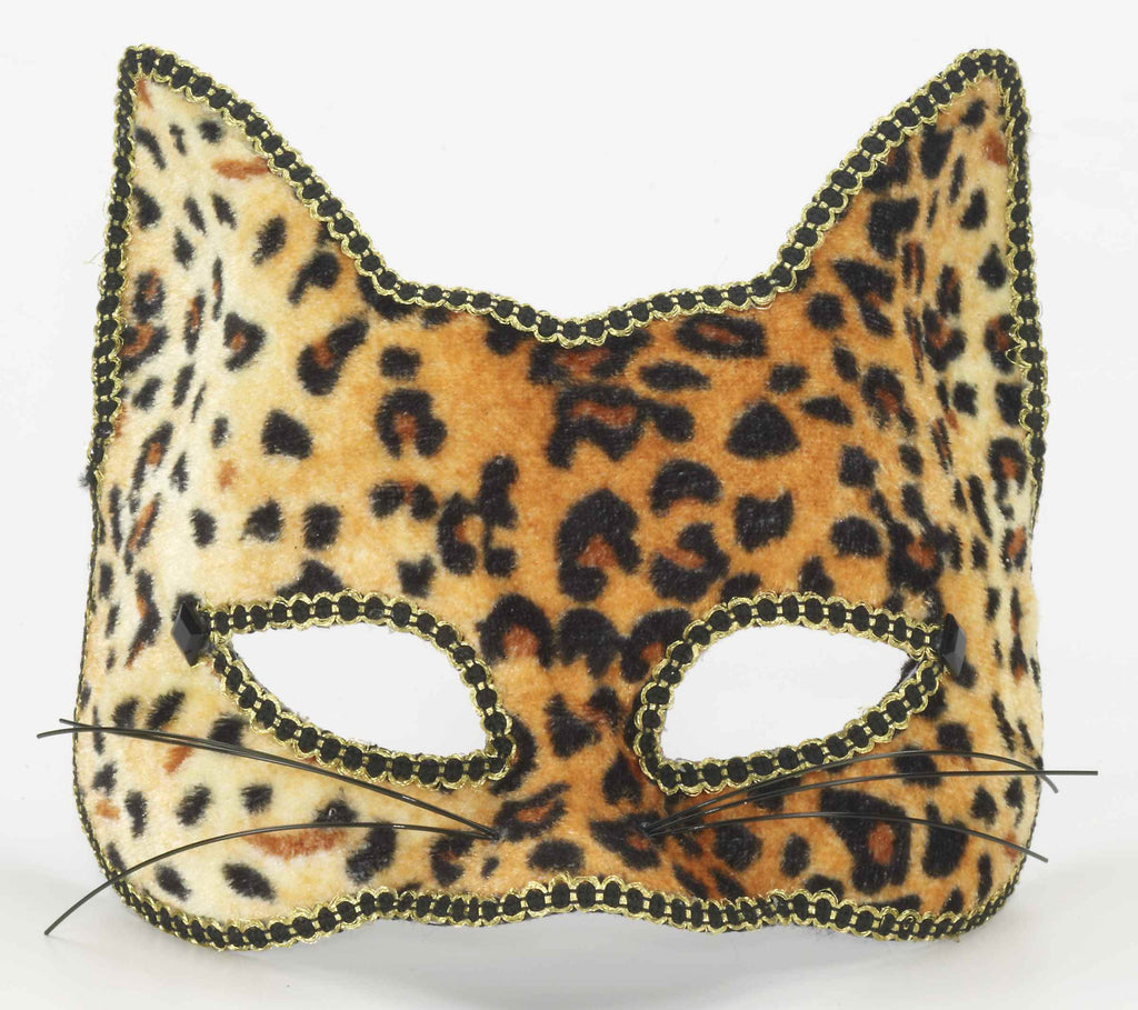 Leopard Venetian Halloween Face Mask - HalloweenCostumes4U.com - Accessories