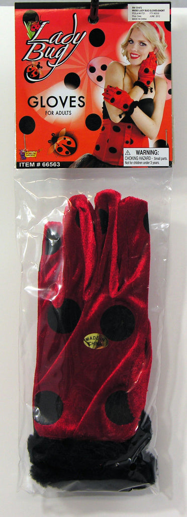 Lady Bug Gloves-Short